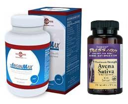 Potenzmittel Doppelpack (ArginMax + Natural Sex)